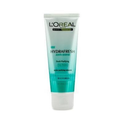L'Oréal Paris Dermo-Expertise Hydrafresh Anti-Shine Fresh Purifying Icy Foam for Shiny Skin