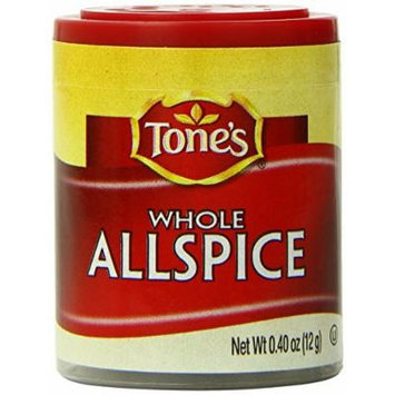 Tone's Mini's Allspice, Whole, 0.40 Ounce (Pack of 6)