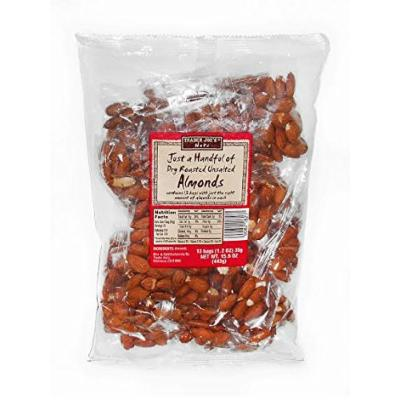 Trader Joe's Just a Handful of Dry Roasted Unsalted Almonds