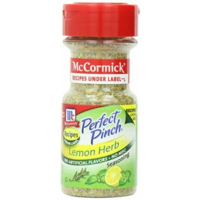 McCormick Perfect Pinch Lemon and Herb Seasoning, 2.5-Ounce (Pack of 6)