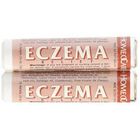 Homeocare Labs Eczema Relief, 75 Pellets Tubes (Pack of 2)