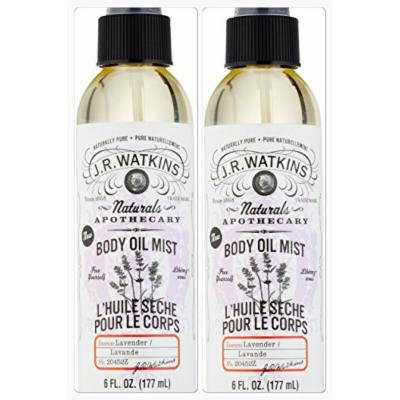 J.R. Watkins Lavender Body Mist 6 Oz. (Two Pack)