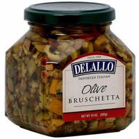 Delallo Bruschetta Olive 10 oz. (Pack of 6)