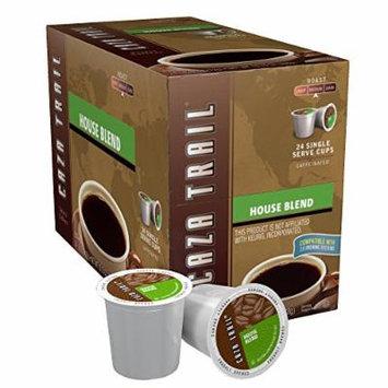Caza Trail Coffee, House Blend, 24 Single Serve Cups