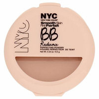 N.Y.C. New York Color BB Radiance Perfecting Powder, Warm Beige, 0.33 Ounce