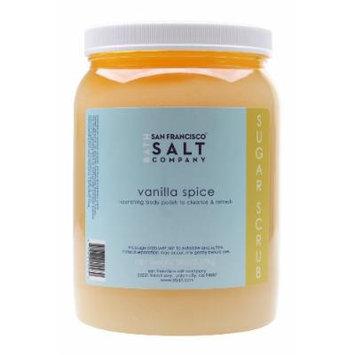 Vanilla Spice White Sugar Body Scrub 5lb Professional Size