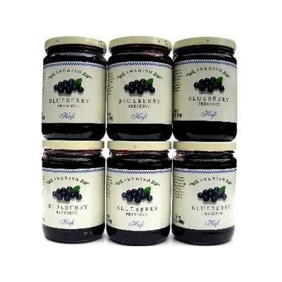 Hafi Blueberry Preserves 6-Pack