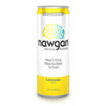 Nawgan Lemonade, 11.5 Ounce (Pack of 12)