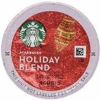 Starbucks K-Cups 54-Count Holiday Blend 2015 Medium Roast Coffee Limited Edition ...