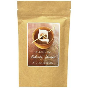 The Healing Tree Apothecary Blend Valerian Dreams, For A Good Night's Sleep, Loose Leaf Blend Tea 2 Oz Bags (Pack of 2)