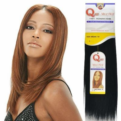 Human Hair Weave Milky Way Que Yaky Que [14