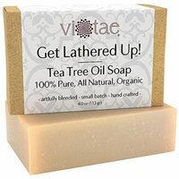 Vi-Tae Organic Tea Tree Oil Soap, 4oz