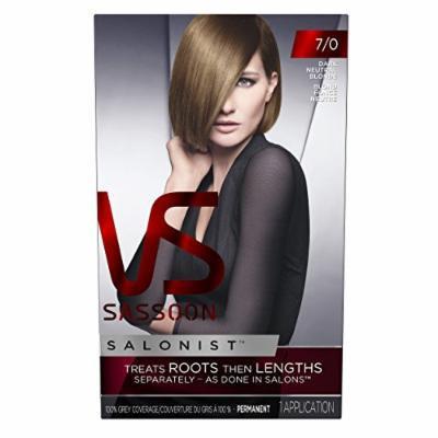 Vidal Sassoon Salonist Hair Color Permanent Color Kit, 7/0 Dark Neutral Blonde