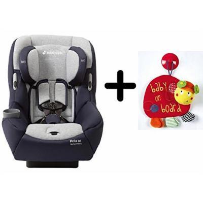 Maxi-Cosi Pria 85 Convertible Car Seat - Brilliant Navy + Free Mamas & Papas Baby on Board (Ladybird)