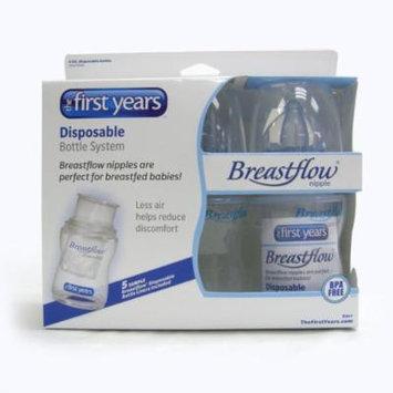 3 X 4oz Breastflow Disposable Bottles NEW BPA Free
