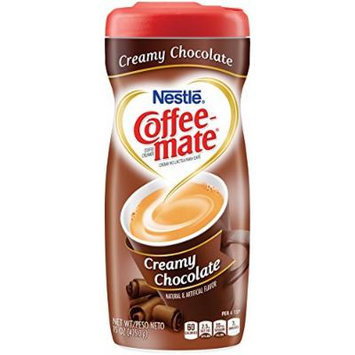 Coffee-mate Creamy Chocolate Powdered Coffee Creamer, 15-Ounce Packages (Pack of 6)