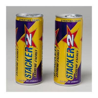 ENERGY DRINK 8.4 OZ CAN GRAPE STACKER 2, Case Pack of 24