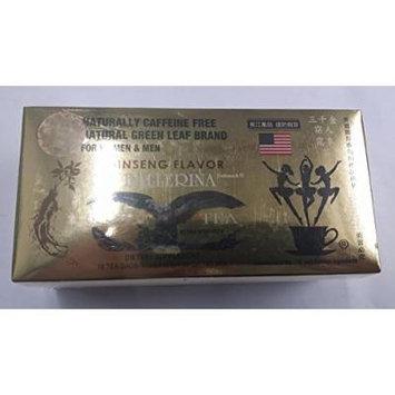 Ginseng Flavor Tea - 18 Tea Bags (For Women & Men)