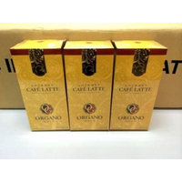 3 Boxes Organo Gold Gourmet Cafe Latte with Ganoderma Lucidum Extract + Free 3 Sachets Ganocafe 3 in 1 Coffee