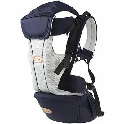 Beddinginn® Safe Comfortable Multi Functional Cotton Baby Carrier with Baby Hip Seat