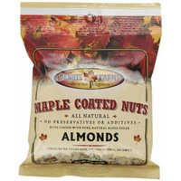 Dennis Farms Maple Coated Almonds, 4 Ounce Bags (Pack of 4)