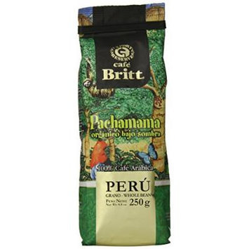 Cafe Britt Peru Pachamama Organic Ground, 8.8 Ounce