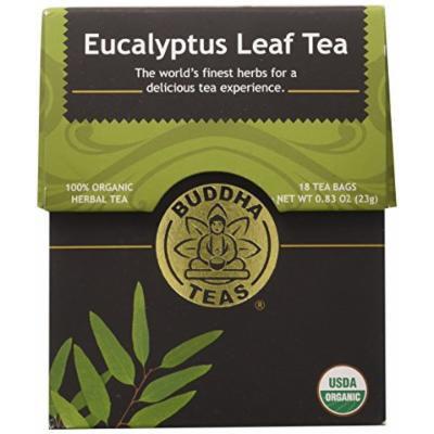 Eucalyptus Tea - Organic Herbs - 18 Bleach Free Tea Bags