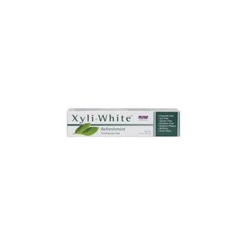 Now Foods Xyliwhite Refreshmint Toothpaste Gel, 6.4 Oz (Pack of 3)