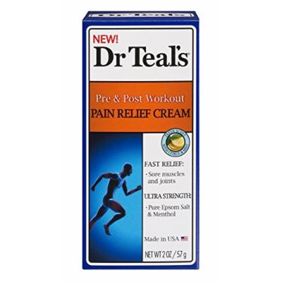 Dr. Teal's Muscle Relief Cream 2 oz Pack of 4