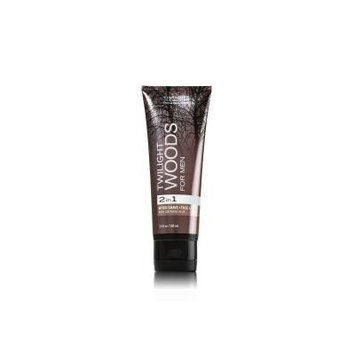 Bath and Body Works New for 2013 Twilight Woods for Men After Shave and Face Lotion 3.4 Oz