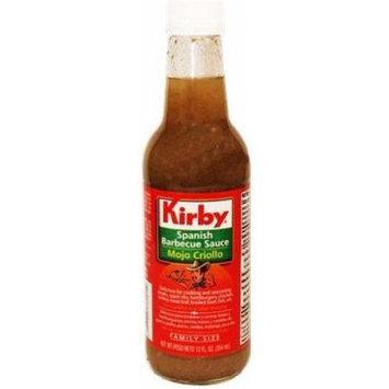 Kirby Mojo Criollo, Spanish Barbecue Sauce 12 oz family size