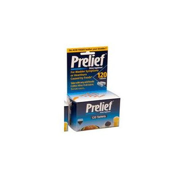 Prelief Dietary Suppliment Tablets, 120 Tabs (Pack of 4)
