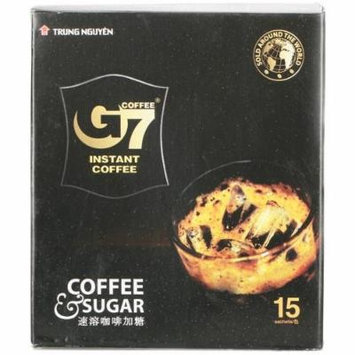 8.4oz Trung Nguyen G7 Instant Coffee 2 in 1 (15 Sachets), Pack of 1