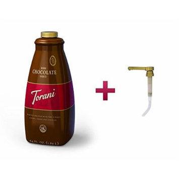 Torani Dark Chocolate Sauce + Pump