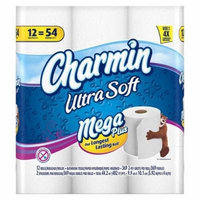 Charmin Ultra Soft Bathroom Tissue 12 Mega Plus Rolls