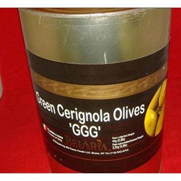 Green Olives Cerignola - 5.5 Lbs