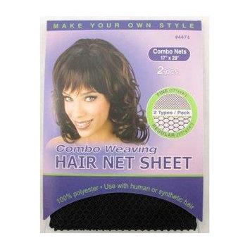 Annie Combo Weaving Hair Net Sheet Fine/Regular (17