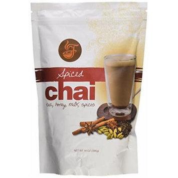 Fireside Fat Free Instant Spiced Chai Tea Latte 14 Oz
