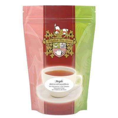 Flavored Black Tea - 50 Teabags Pouch - Maple