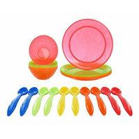 Munchkin Multi Bowls & Plates with BONUS Infant Feeding Spoons