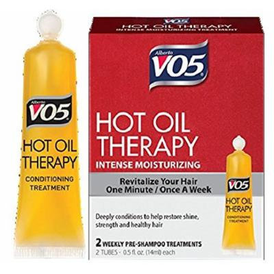 Alberto VO5 Hot Oil Intense Conditioning Treatment, 2 Count