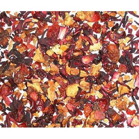 Strawberry + Tropical Fruit Hibiscus Herbal Tea Loose Leaf Tea 4 Oz Caffeine Free