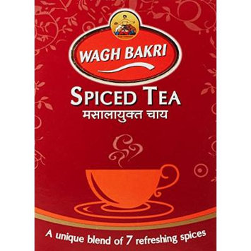 Wagh Bakri Masala Chai Spiced Tea - 250g Unique Blend of 7 Refreshing Spices