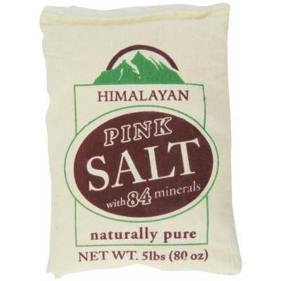 WBM Himalayan Chef Fine Himalayan Salt Bag, 5 Pound