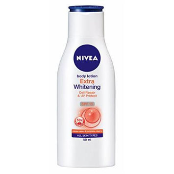 NIVEA Body Lotion Extra Whitening Cell Repair & Uv Protect Spf-15