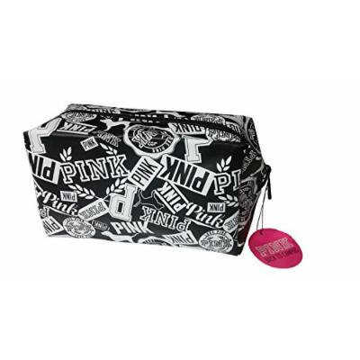 Victoria's Secret Pink Black And White Cosmetic Case