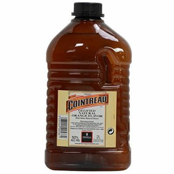 Gelified Orange Alcohol Flavoring Extract - 1 jug - 2 liters