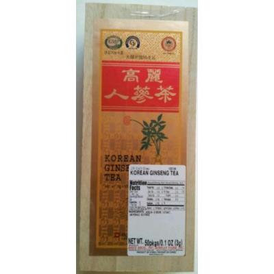 Korean Ginseng Tea in Wooden Box (2g x 50)