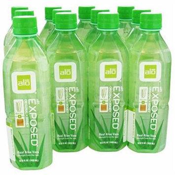 ALO - Original Aloe Drink Exposed Aloe + Honey - 16.9 oz. (Pack of 3)