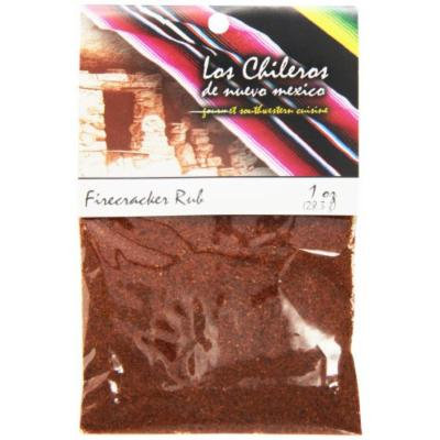 Los Chileros Firecracker Rub, 1 Ounce (Pack of 12)